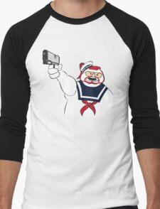 Over the Puft Line! Men's Baseball ¾ T-Shirt