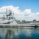USS Lionfish Submarine SS-298: Battleship Cove Fall River, MA by Rebecca Bryson
