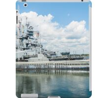 USS Lionfish Submarine SS-298: Battleship Cove Fall River, MA iPad Case/Skin