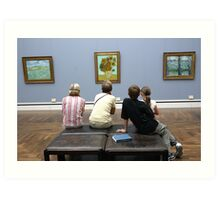 Learning about Vincent Art Print