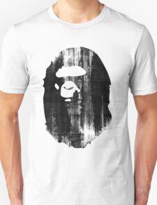 bape black n white T-Shirt