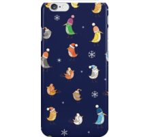 Pattern with birdies. iPhone Case/Skin