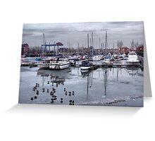 Preston Dock  Greeting Card