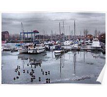 Preston Dock  Poster