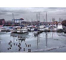Preston Dock  Photographic Print