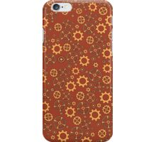 Cogs in Red iPhone Case/Skin