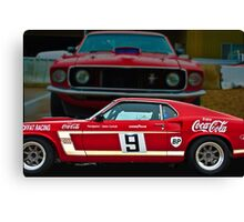 The Red Muscle Canvas Print