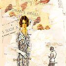 womans heart, 2010 by Thelma Van Rensburg
