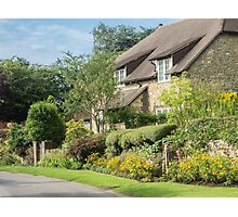 A cottage in a West Sussex Village Photographic Print