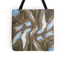 Magritte Ceiling Tote Bag