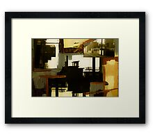 abstract art work 2 Framed Print