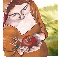 Mary and the Pomegranate Photographic Print