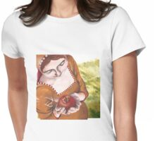Mary and the Pomegranate Womens Fitted T-Shirt