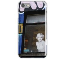 Marilyn at Temple Bar iPhone Case/Skin