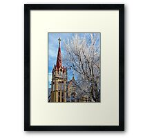 Christmas Morning Framed Print