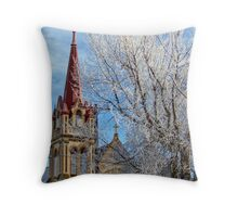 Christmas Morning Throw Pillow