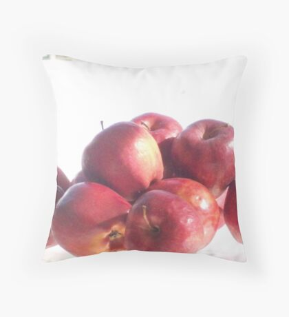 Red Apples Throw Pillow
