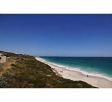 A new view of the Perth coastline Photographic Print