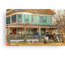 House of antiques Canvas Print