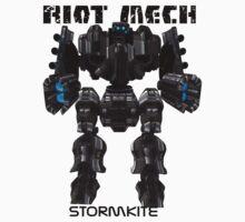 Riot Mech - Stormkite by GumbyRoffo