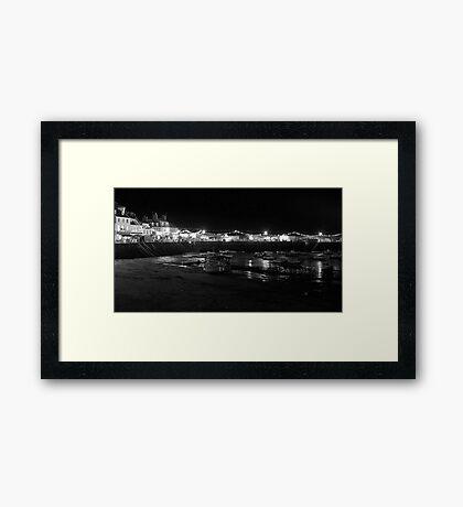 Gorey Harbour Framed Print
