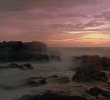 Waves at Dusk by piccolo8va