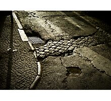 Lisbon pavement Photographic Print