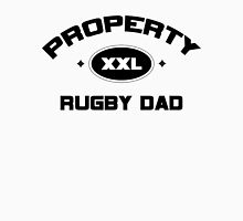 "Rugby ""Property Rugby Dad"" Unisex T-Shirt"