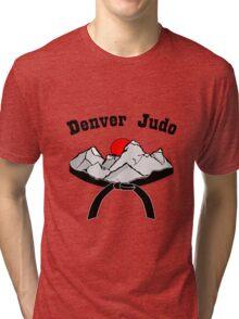 Denver judo long sleeve geek funny nerd Tri-blend T-Shirt