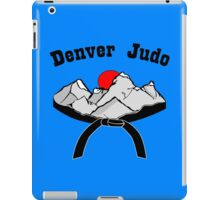 Denver judo long sleeve geek funny nerd iPad Case/Skin