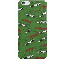 Sad Pepe Pattern iPhone Case/Skin