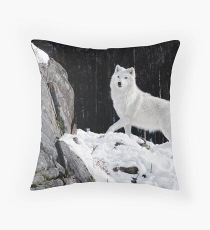 Pride Of The Pack Throw Pillow