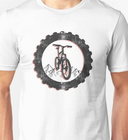 Mountain Bike Cycling Bicycle  Unisex T-Shirt