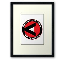 ARGUS shirt (Advanced Research Group United Support) – Arrow Framed Print