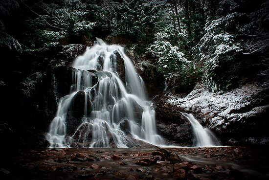 December Falls  by Charles Plant