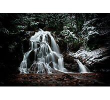 December Falls  Photographic Print