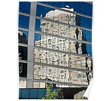 Archictectual Glass Reflection  Poster