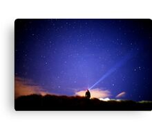 Searching the stars Canvas Print