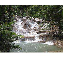 Dunns River Falls, Jamaca Photographic Print