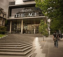 'The Age' Building, Melbourne by Heather Prince ( Hartkamp )