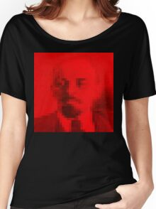 Lenin in Red Square Women's Relaxed Fit T-Shirt
