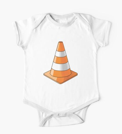 traffic cone One Piece - Short Sleeve
