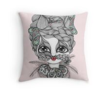 My Friend The Witch Doctor Throw Pillow