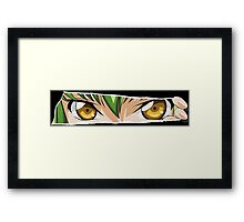 code geass cc c2 anime manga shirt Framed Print