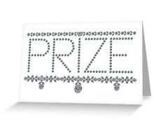 Diamond Prize Greeting Card