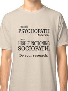 Sherlock Holmes quote Classic T-Shirt