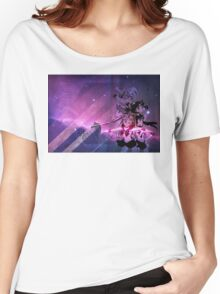 Sailor Scouts Purple Galaxy - Sailor Moon Women's Relaxed Fit T-Shirt