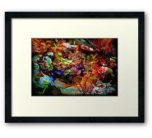 Abstract Organic 1 Framed Print