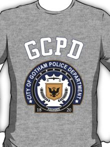 GCPD Athletic Shirt – Gotham, Jim Gordon, Batman T-Shirt