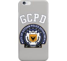 GCPD Athletic Shirt – Gotham, Jim Gordon, Batman iPhone Case/Skin